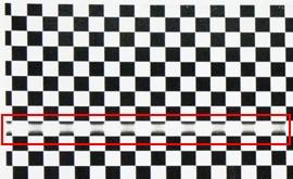 コピー機で印刷したら用紙に線が入るドラム部品の不良