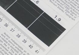 コピー機の印字品質