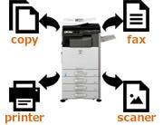 コピー機の機能