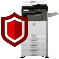 複合機のセキュリティ機能を使い、情報漏えいのリスクを減らす