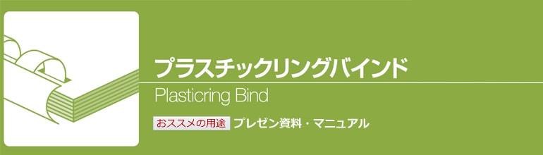 リング製本(プラスチックリングバインド)
