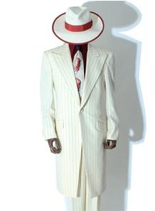 シングルロングズートスーツ