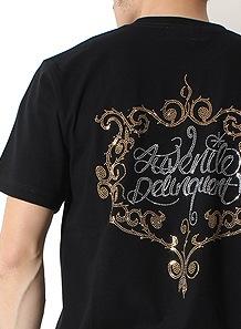 メタルアラベスクJDロゴTシャツ