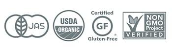 JAS /USDA 認定品 / GF /Non-GMO