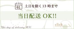 当日配送OK!!