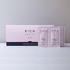 RICH ADDICT シャンプー&トリートメント トライアル【初めての方限定】(3日分)写真
