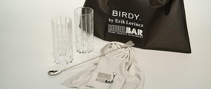 BIRDY. RIEDRLBAR