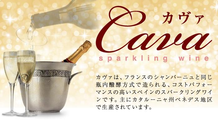 カヴァは、フランスのシャンパーニュと同じ瓶内醗酵方式で造られる、コストパフォーマンスの高いスペインのスパークリングワインです。カタルーニャ地方ペネデス地区で生産されています。