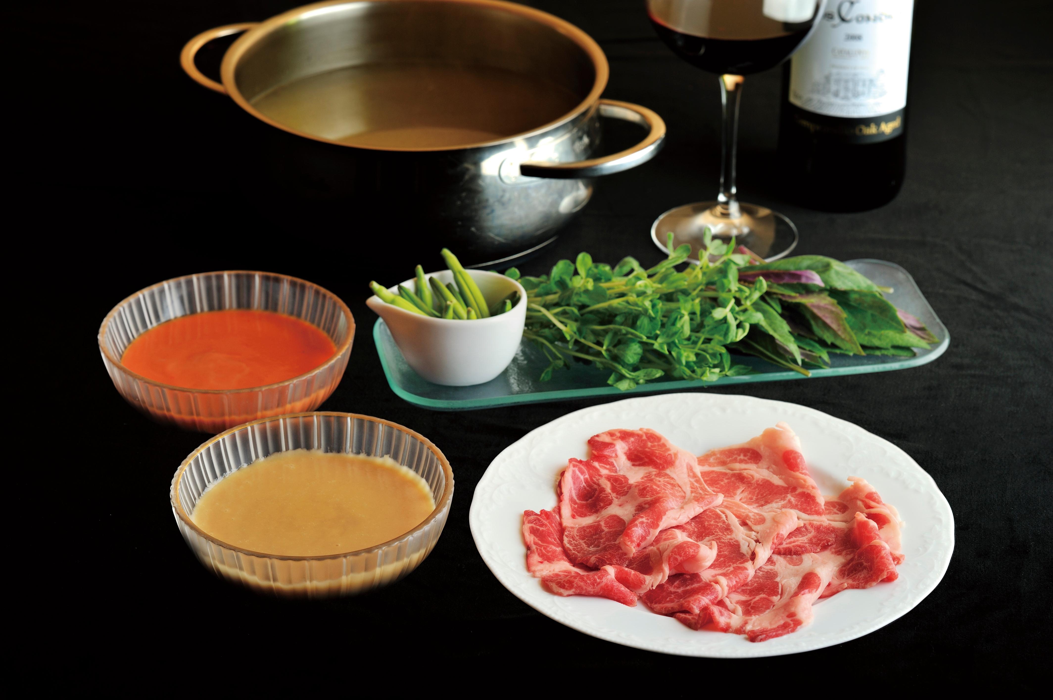 素晴らしいイベリコ豚とタレのベストマッチを堪能ください。
