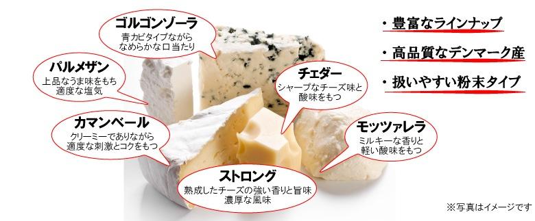 高品質のデンマーク産チーズパウダー Cheesebon