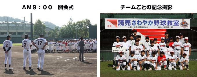 第2回 読売さわやか野球教室1