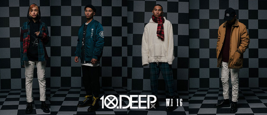 10DEEP/テンディープ WINTER2016