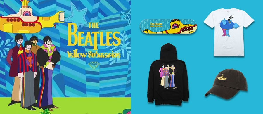 Diamond Supply Co. x The Beatles