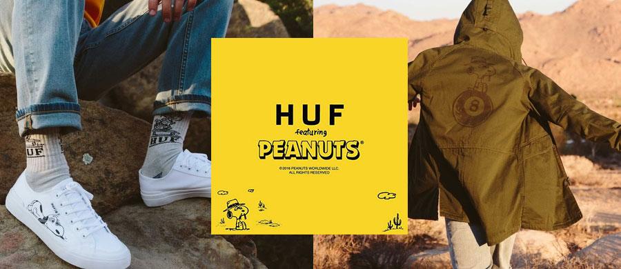 HUF x PEANUTS