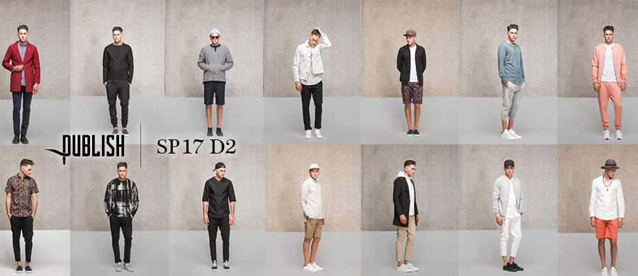 PUBLISH BRAND spring 2017 D2