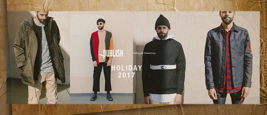 PUBLISH BRAND holiday 2017