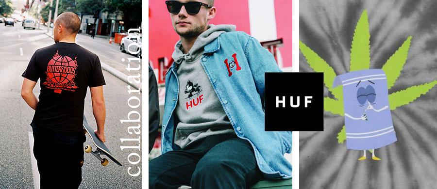 HUF コラボコレクション