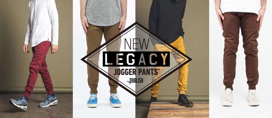 PUBLISH BRAND | LEGACY JOGGER PANTS レガシージョガーパンツ