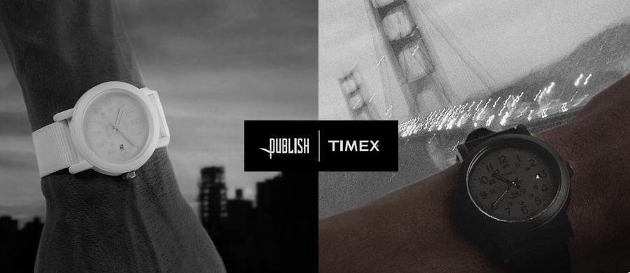PUBLISH BRAND | TIMEX