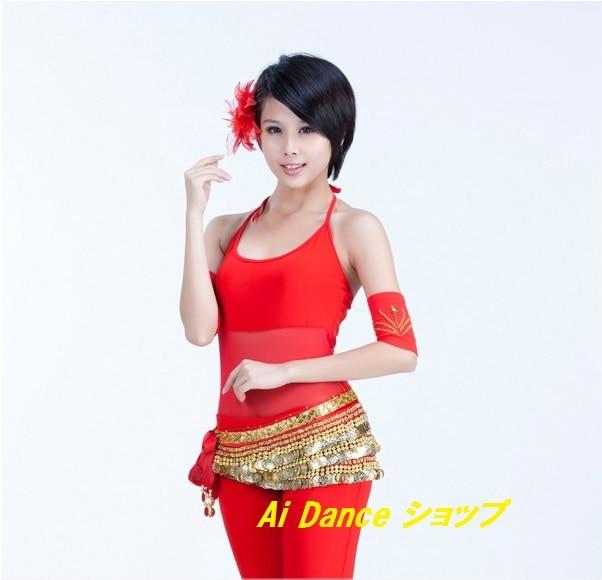ベリーダンス 衣装 アクセサリー アーム (両腕用2個) 12cm 全9色展開 sf,bx12,mian