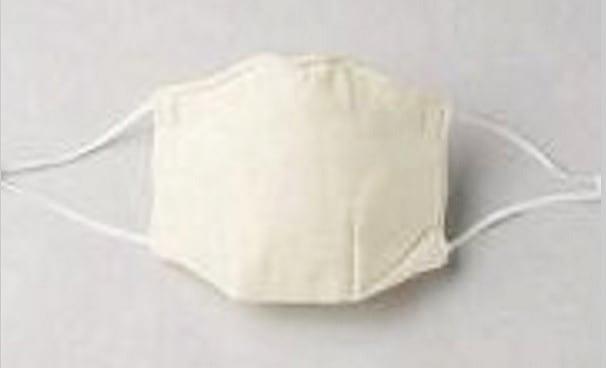 パシーマでできたマスク