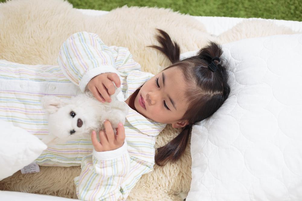 新冬パシーマパジャマ ストライプ柄 アトピーや敏感肌のお子様の為に作られたパシーマパジャマ ぐっすり熟睡!笑顔で元気!