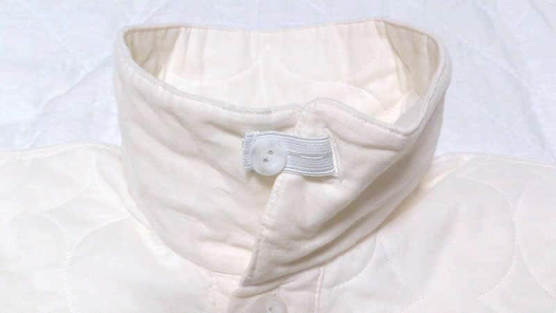 パシーマ商品の特徴 パシーマ商品の特徴 パシーマパジャマ冬用 アトピーパジャマ アトピーやアレルギー、敏感肌、乾燥肌の方に喜ばれているパジャマ 縫い代表側にして、刺激のないデザイン 衿を立て暖かい仕様