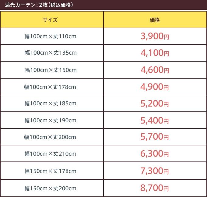 ct8020(2枚セット)価格表