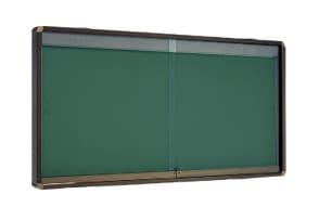 屋外掲示板 奥行き80mmタイプ 壁付け型