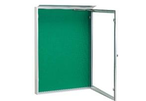 横開き式屋外掲示板 壁付け型