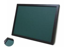 木目調枠付き チョーク黒板 緑色
