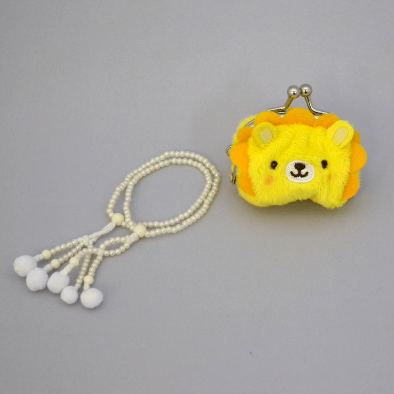 赤ちゃん念珠セット ライオン画像