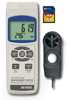 SD保存デジタル環境測定器 よろず測定器