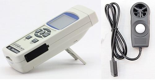 SD保存デジタル環境測定器 よろず測定器 使用方法