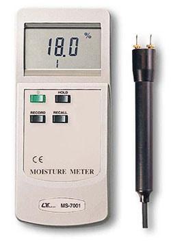 分解能0.1%!木材専用の水分計!MS-7001