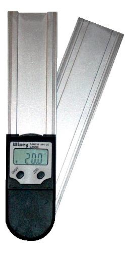 デジタルプロトラクター(分度器)『はさむと何度?』WR4101(200mmタイプ)