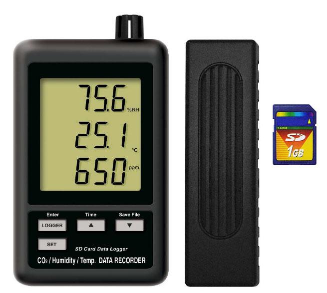 ロガ—式CO2濃度計