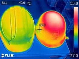表面温度30分後の画像