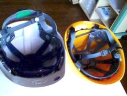 ヘルメット内部温度撮影 デジカメ画像