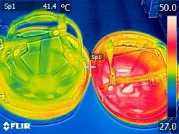 内部温度30分後の画像
