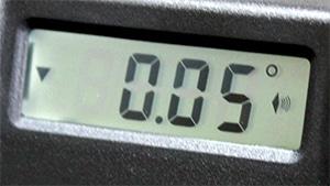 0.05°の分解能