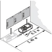 ハンディ測長器7000 連続測定