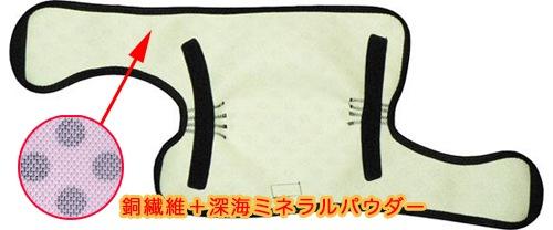 銅繊維スマート膝サポーター 使い方