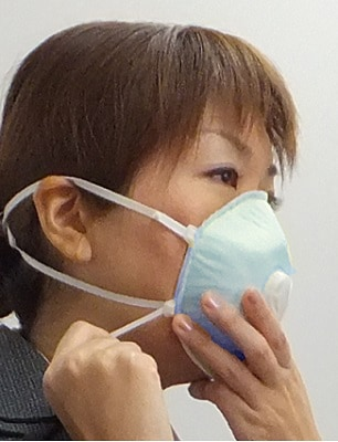 感染対策用マスク「かからんぞ」