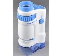 高輝度LEDハンディ顕微鏡本体(ブルー)