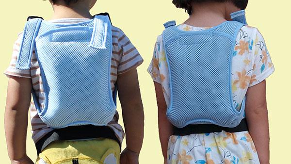 クールウェア・「キッズクールV2」3歳児男女、横並び画像