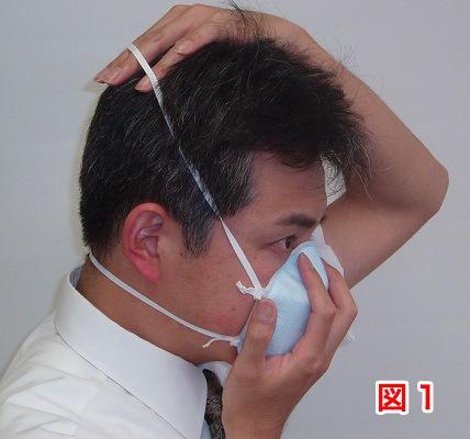 マスクの着用方法1