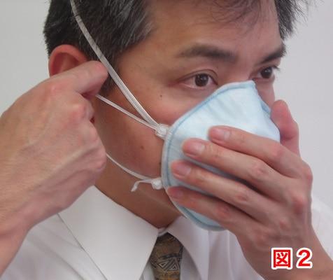 マスクの着用方法2