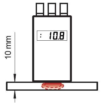 非破壊高周波水分計 プロ380 使い方2