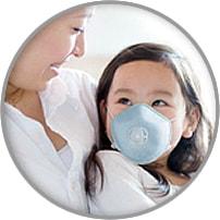 感染対策用マスク「KIDSかからんぞ」